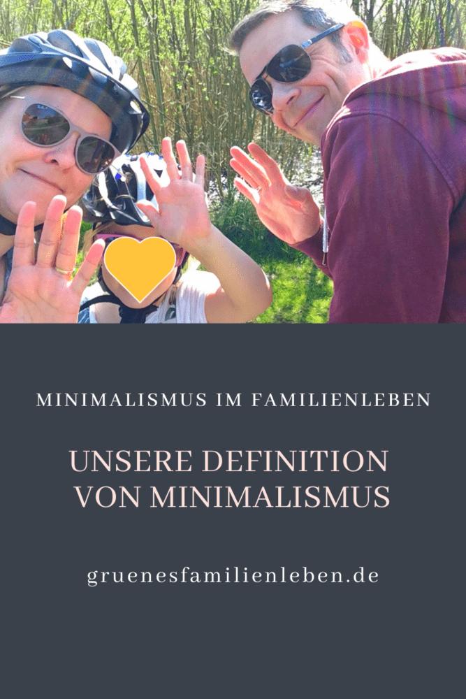 definition minimalismus familie