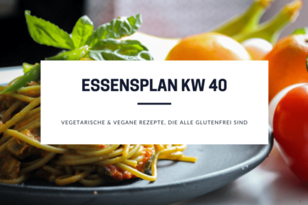 glutenfreie und vegetarische Rezepte