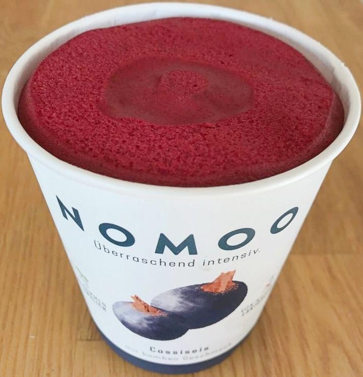 nomoo cassis veganes eis