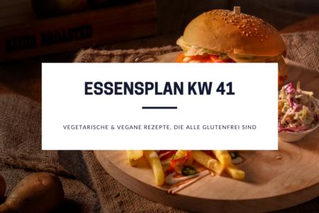glutenfreie Rezepte Essensplan