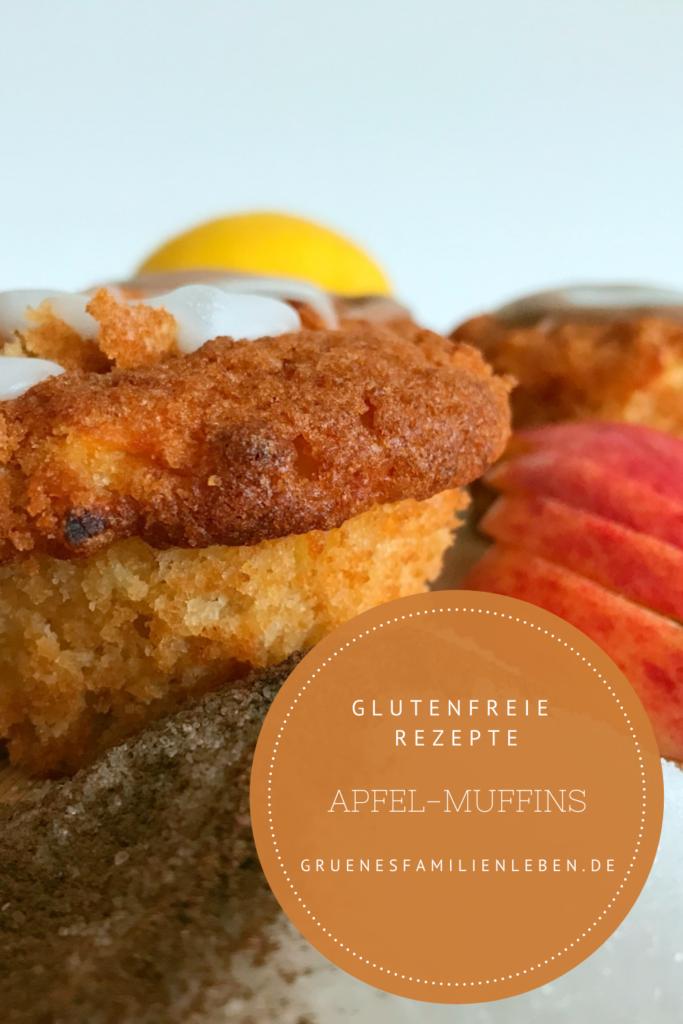 glutenfreie Muffins Apfelmuffins
